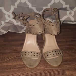 SODA block heel sandals